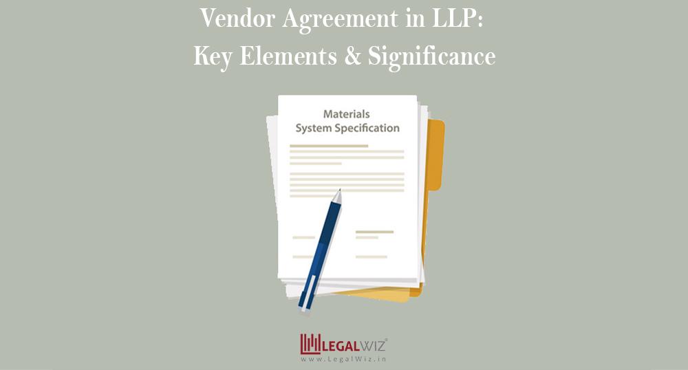 LLP vendor agreement
