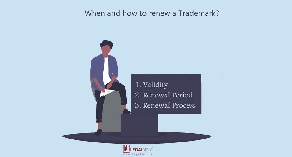 Trademark Renewal steps