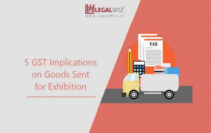 gst on exhibition goods