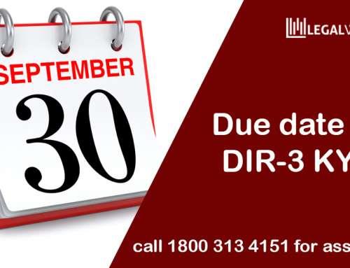DIR-3 KYC: Amendments, Due date, Consequences