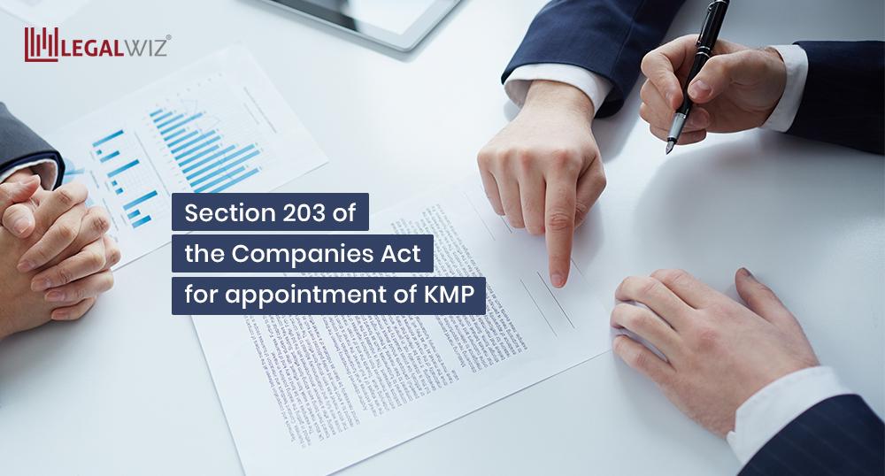 KMP companies act