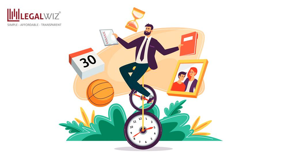 entrepreneur managing time